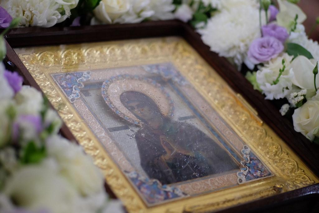В наш город прибыла чудотворная икона Божией Матери «Умягчение злых сердец»